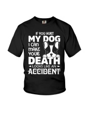 if you hurt my dog Youth T-Shirt thumbnail