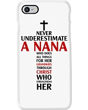 Never Underestimate A Nana Phone Case thumbnail
