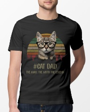 Cat Dad Classic T-Shirt lifestyle-mens-crewneck-front-13
