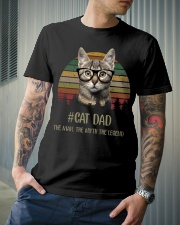 Cat Dad Classic T-Shirt lifestyle-mens-crewneck-front-6