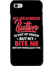 My Grandkid Button Is Out Of Order Phone Case tile