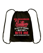 My Grandkid Button Is Out Of Order Drawstring Bag tile