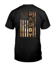 Daddy Flag Classic T-Shirt back