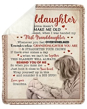 """Being A Grandma Does Not Make Me Old GM To GD Sherpa Fleece Blanket - 50"""" x 60"""" thumbnail"""