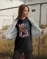 American Flag pomeranians Classic T-Shirt apparel-classic-tshirt-lifestyle-07