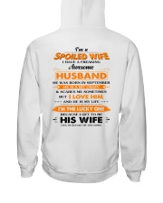 I'm A Spoiled Wife Of A Freking Awesome Husband Hooded Sweatshirt thumbnail