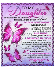 """Inside This Blanket There Is Piece Mom To Daughter Fleece Blanket - 50"""" x 60"""" front"""