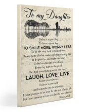 Today Is A Good Day Have Great Day Dad To Daughter Gallery Wrapped Canvas Prints tile