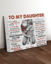When Life's Troubles Try To ScareU Dad To Daughter 14x11 Gallery Wrapped Canvas Prints aos-canvas-pgw-14x11-lifestyle-front-17