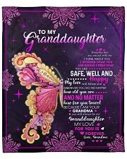 "My Love For U Is Forever GM-Granddaughter Fleece Blanket - 50"" x 60"" front"