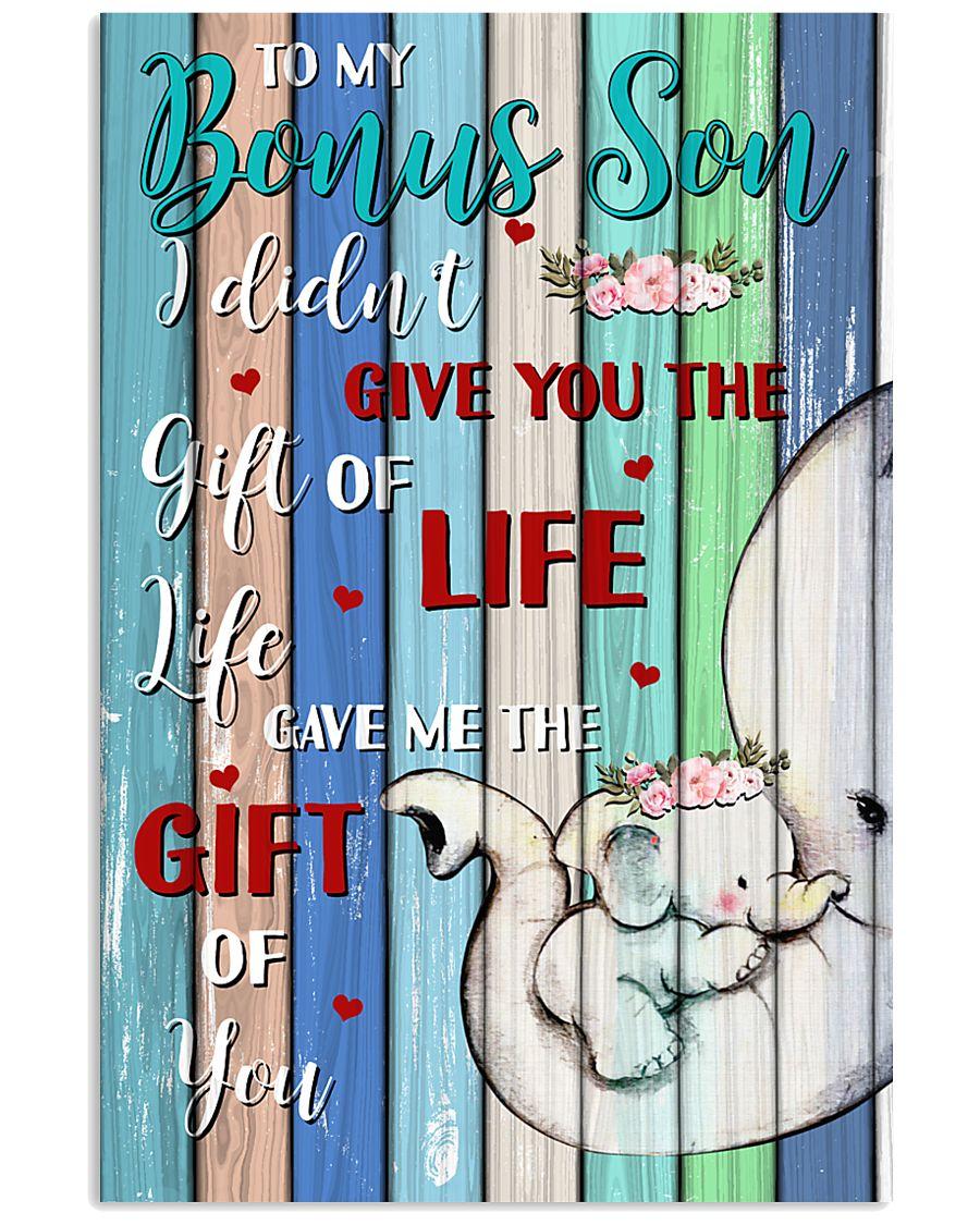 To My Bonus Son 11x17 Poster