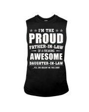 Proud Father-In-Law Of A Freaking Daughter-In-Law Sleeveless Tee thumbnail