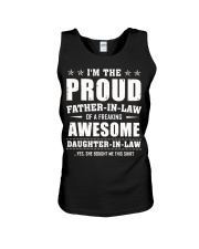 Proud Father-In-Law Of A Freaking Daughter-In-Law Unisex Tank thumbnail