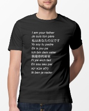 i am your father many languages Classic T-Shirt lifestyle-mens-crewneck-front-13