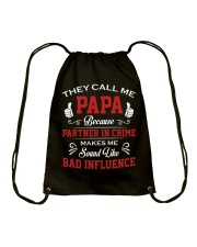 They Call Me Papa Drawstring Bag thumbnail