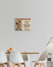 Never Feel That You Are Alone Dad To Daughter 14x11 Gallery Wrapped Canvas Prints aos-canvas-pgw-14x11-lifestyle-front-05