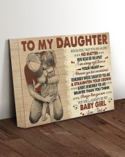 Never Feel That You Are Alone Dad To Daughter 14x11 Gallery Wrapped Canvas Prints aos-canvas-pgw-14x11-lifestyle-front-17