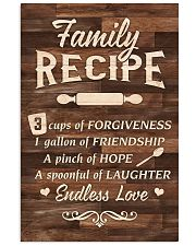 Family Recipe 11x17 Poster front