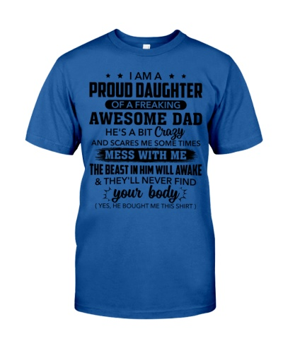Proud Daughter Of A Freaking Awesome Dad