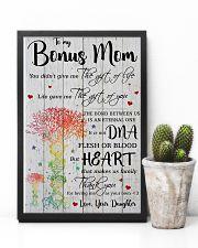 Bonus Mom Thanks For Loving Me As Your Own 11x17 Poster lifestyle-poster-8