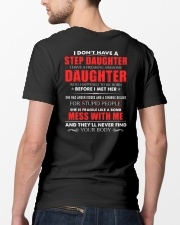 I have a freaking awesome Step Daughter new Classic T-Shirt lifestyle-mens-crewneck-back-5