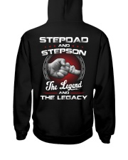 Stepdad And Stepson The Legend And The Legacy Hooded Sweatshirt thumbnail