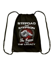 Stepdad And Stepson The Legend And The Legacy Drawstring Bag thumbnail