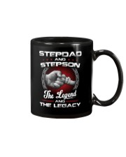 Stepdad And Stepson The Legend And The Legacy Mug thumbnail