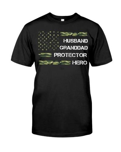 Husband Granddad Protector Hero