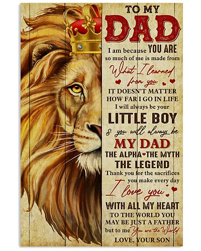 Dad Lion You'll Always Be My Dad The Alpha Legend