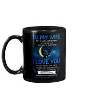 To My Wife I'm So Lucky To Have You In My Life Mug back