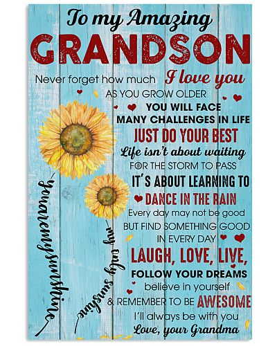Grandson Remember To Be Awesome I Love You