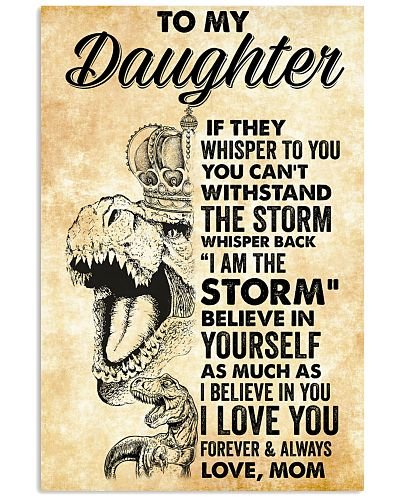 Daughter Dinosaur Crown I am the storm