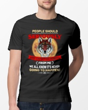 People Should Seriousy Stop Expecting Normal Classic T-Shirt lifestyle-mens-crewneck-front-13