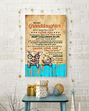 Never 4get How Much I Love U Pig To Granddaughter 11x17 Poster lifestyle-holiday-poster-3