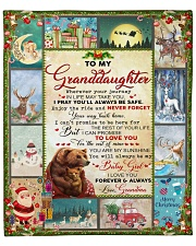 """Wherever Your Journey In LIfe Xmas GM To GD Fleece Blanket - 50"""" x 60"""" front"""
