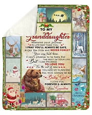 Wherever Your Journey In LIfe Xmas GM To GD Sherpa Fleece Blanket tile