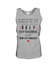 Happy Fathers Day - You don't have ugly step child Unisex Tank tile