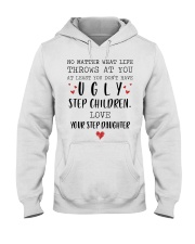 Happy Fathers Day - You don't have ugly step child Hooded Sweatshirt tile