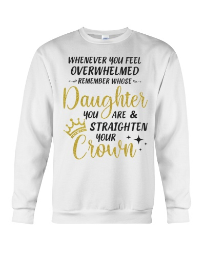 Remember Whose Daughter U Are Straighten YourCrown