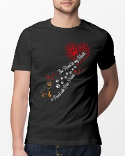 Rottweilers Road To My Heart Classic T-Shirt lifestyle-mens-crewneck-front-13