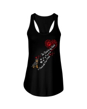 Rottweilers Road To My Heart Ladies Flowy Tank thumbnail