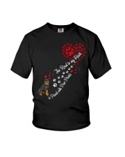 Rottweilers Road To My Heart Youth T-Shirt thumbnail
