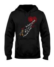 Rottweilers Road To My Heart Hooded Sweatshirt thumbnail