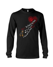 Rottweilers Road To My Heart Long Sleeve Tee thumbnail