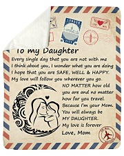 Every single day that you arent with me M-Daughter Sherpa Fleece Blanket tile