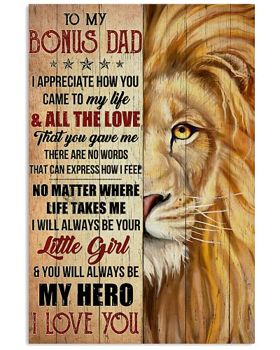 Bonus Dad You'll Always Be My Hero I LoveU-For Dad