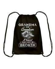Grandma And Grandson A Bond That Can't Be Broken Drawstring Bag thumbnail
