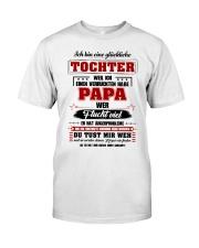Eine Gluckliche Tochter Einen Verruckten Habe Papa Classic T-Shirt thumbnail