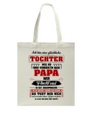 Eine Gluckliche Tochter Einen Verruckten Habe Papa Tote Bag thumbnail